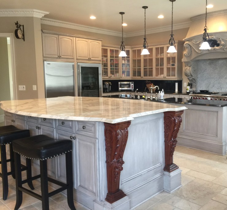 Modern French Country Kitchen Renovation Quot One Room