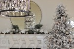 """""""Modern French Country Christmas"""" Sunroom Tour and Remodel 2017"""