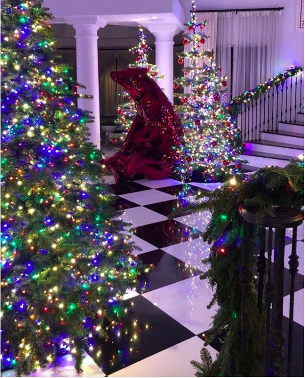 Christmas Tree Inspiration 2017: Celebrity Christmas Trees Of 2017