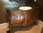 Powder Room Remodel – Modern French Country Design (Part 1- the Before)