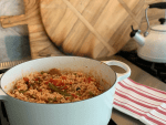 Dutch Oven Chicken and Sausage Jambalaya