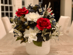 How to Make a Faux Floral Summer Centerpiece