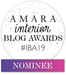 Happy Haute Home has Been Nominated for an AMARA Interior BLOG Award!