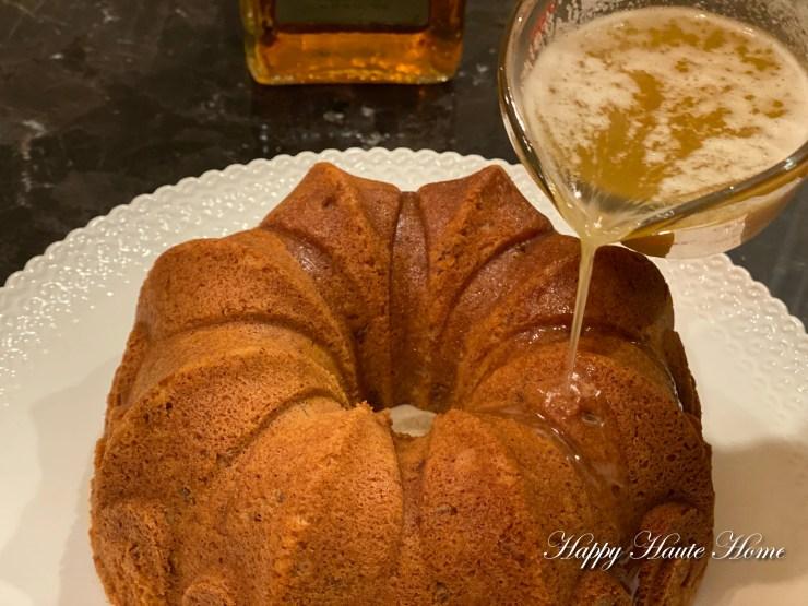 Amaretto Cake-8