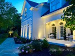 Spring Porch Decor Ideas and a Peony Garden