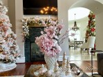 Blush Decor - Family Room Holiday Tour 2020