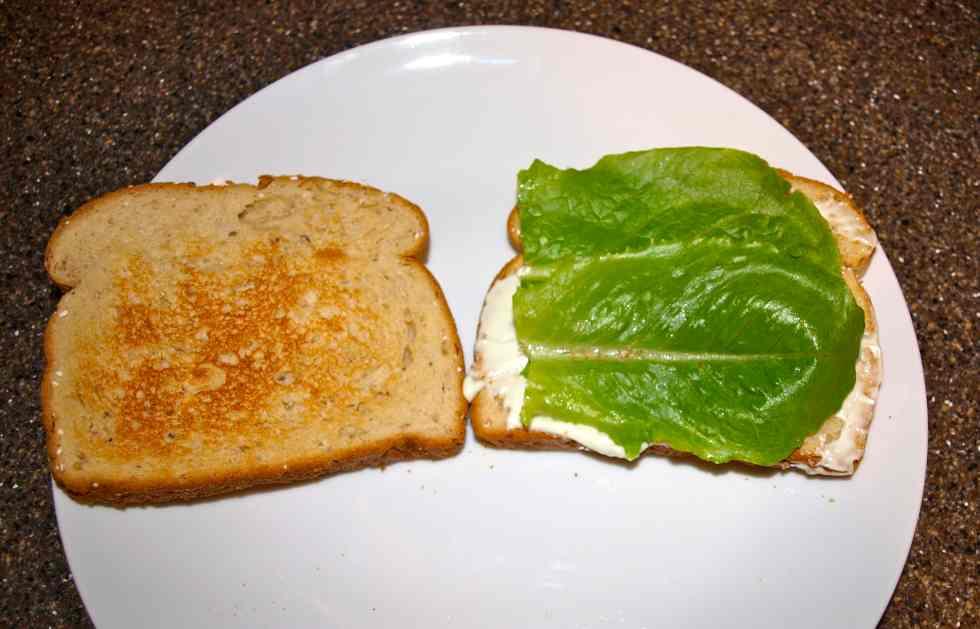 My favorite sandwich best veggie sandwich step 2