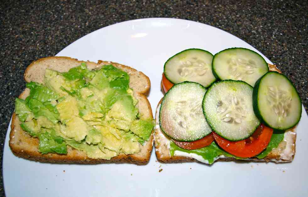 The best veggie sandwich in the world how to make it