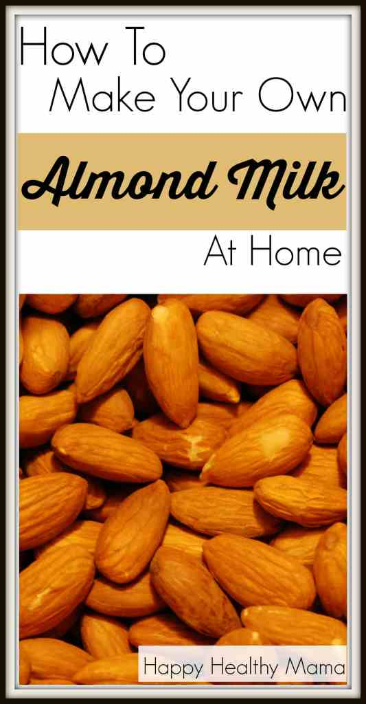 Almond milk can be expensive, but it's so easy to make at home! You can save money and control the ingredients. This post has a quick video showing just how easy it is! Pin down to watch later!