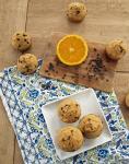 Orange chocolate chip muffins.
