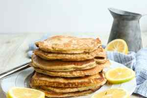 Meyer Lemon Poppy Seed Pancakes Recipe