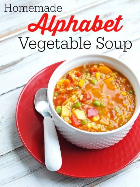 Quick and easy soup recipes that your kids will love | Kid Friendly Soup Recipes | Alphabet Soup| Simply-Well-Balanced | Soup Night Recipe Ideas