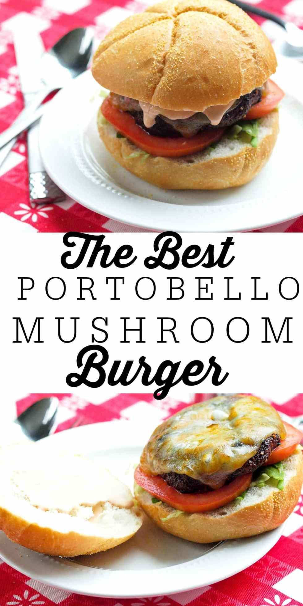 Perfect for summer grilling! This Portobello Mushroom burger is a great grill recipe and even the meat lovers love this vegetarian burger! You'll be making this grilled Portobello Mushroom recipe all summer long!