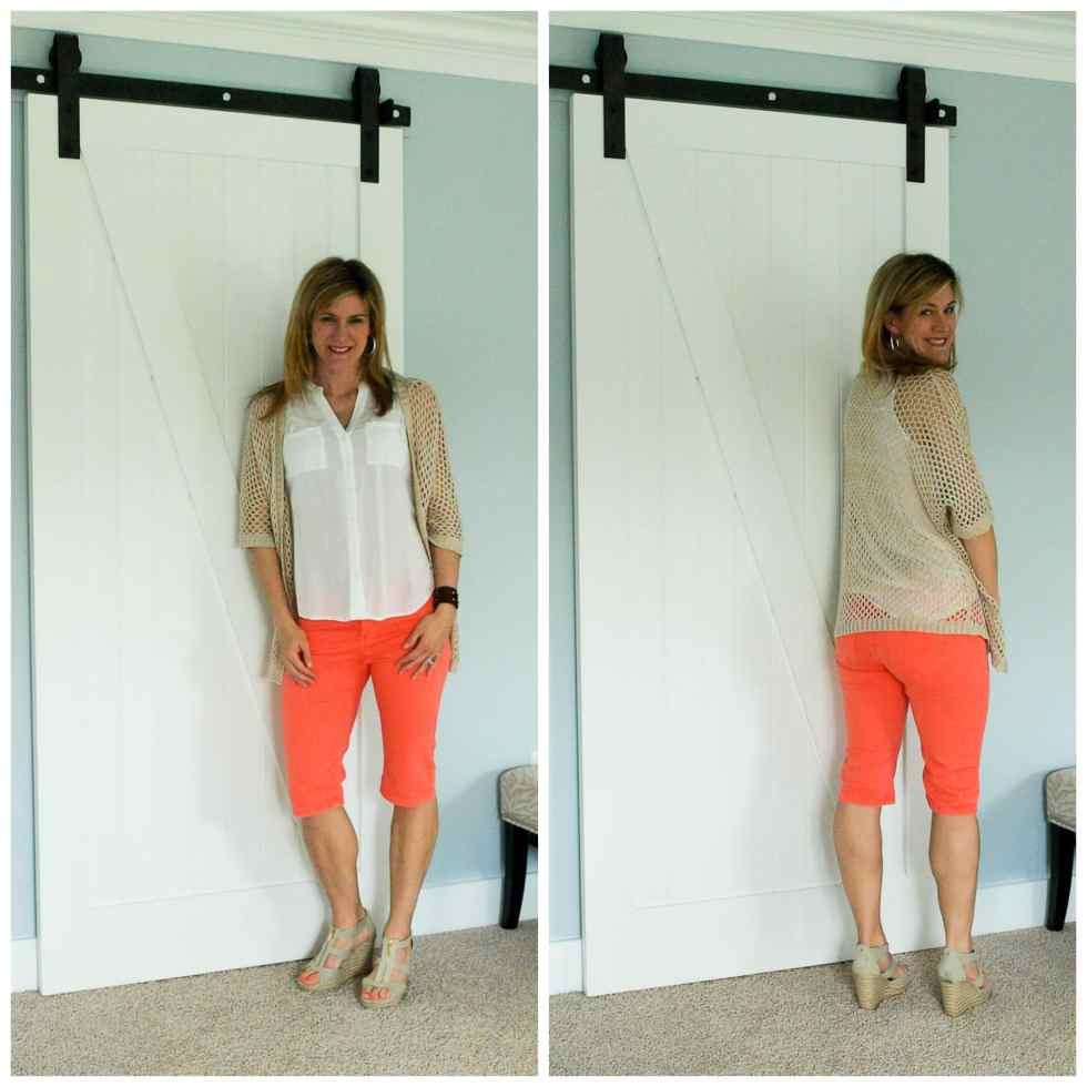 May Stitch Fix Review:  Liverpool Susie Bermuda Shor