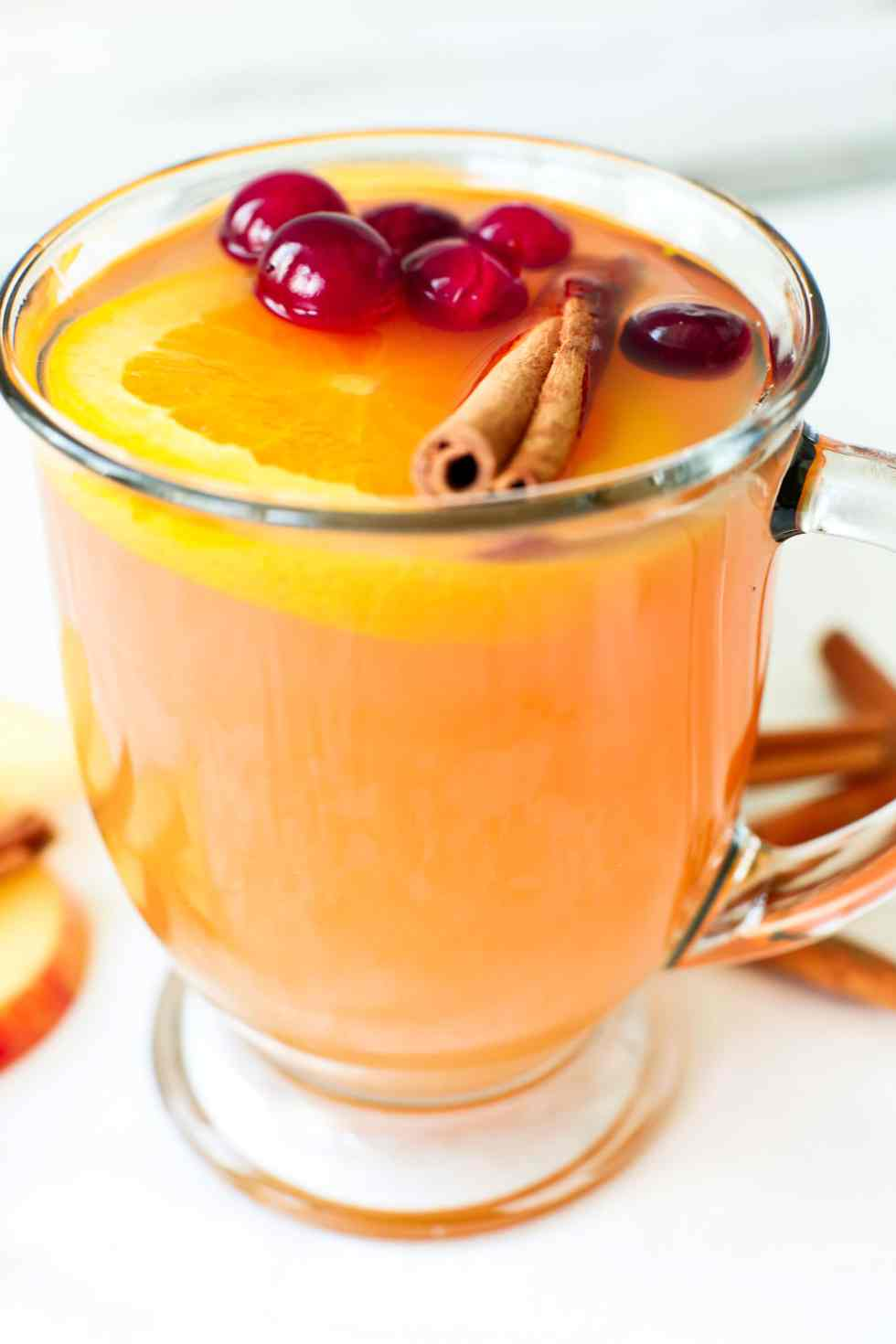 Mulled Hot Apple Cider Crockpot Slow Cooker