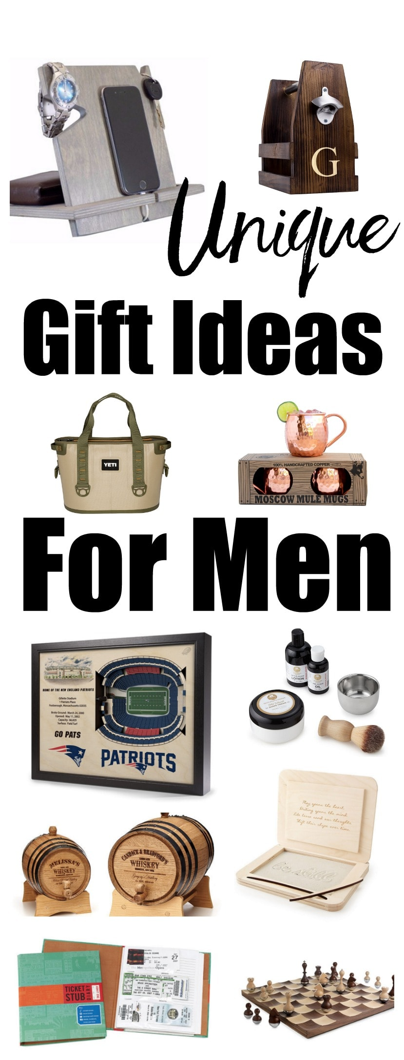 Unique Gift Ideas For Men Happy Healthy Mama