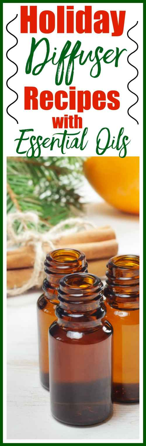 Holiday Diffuser Blend Recipes with Essential Oils