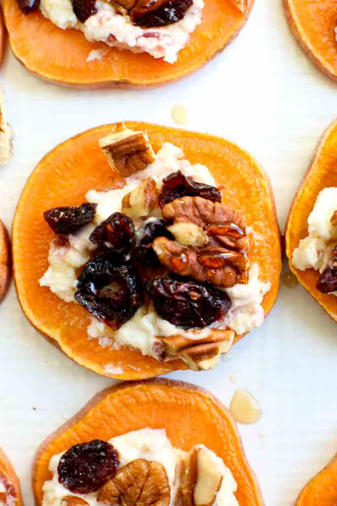 Sweet Potato Toast Appetizer