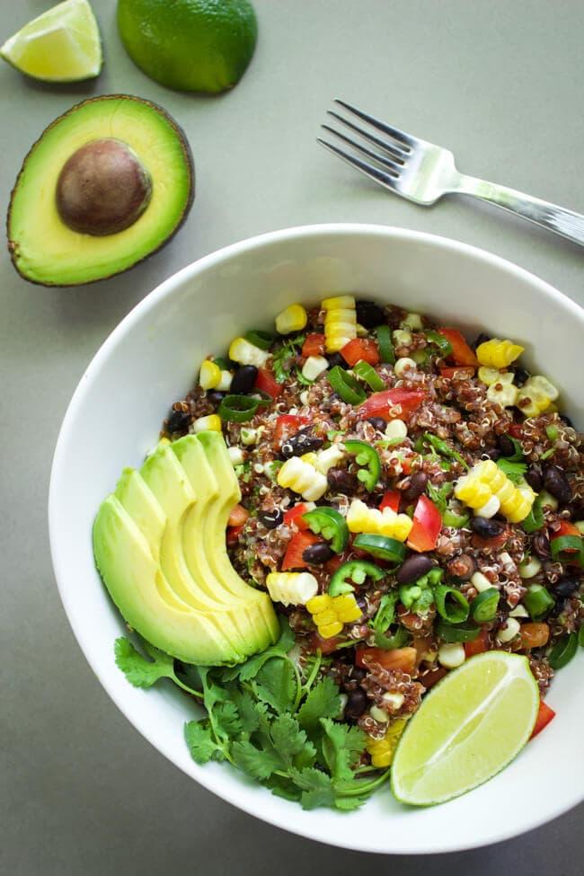 Bell Pepper Recipes: Spicy Red Quinoa Salad