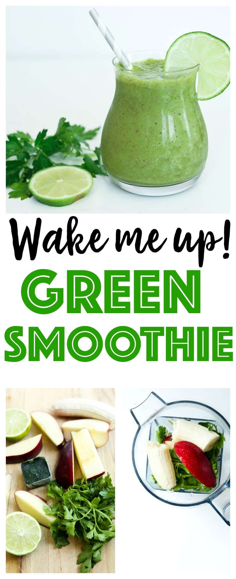 Green Smoothie Recipe | healthy | vegan | gluten-free | Paleo