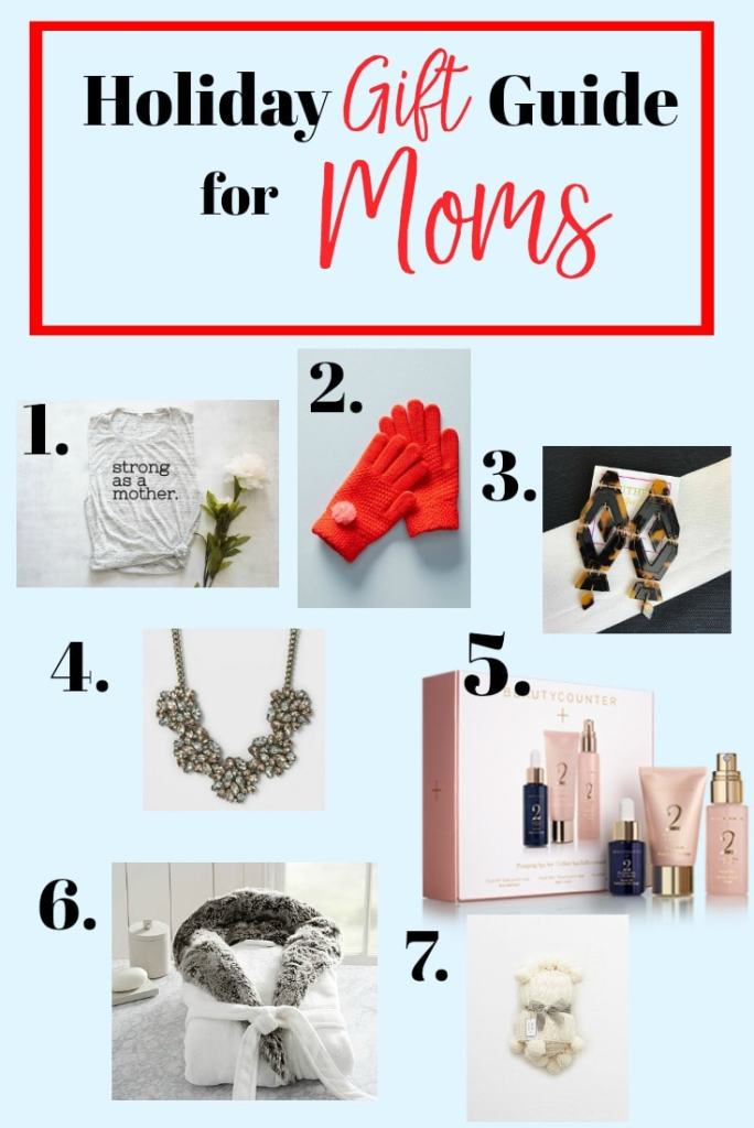 Holiday Gift Guide for Moms Gift ideas for moms