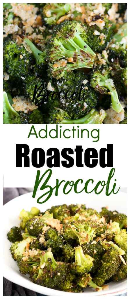 Roasted Broccoli with Parmesan Recipe #healthy #vegetable #glutenfree #sidedish