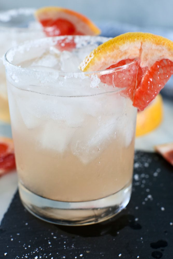 Grapefruit Margarita recipe close up