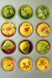 Egg Muffins recipe baked