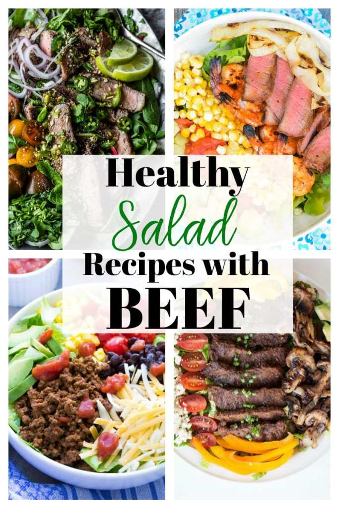 Healthy Salad Recipes with Beef #saladrecipes #lowcarb #meat #beef #families #glutenfree #easy #maindish