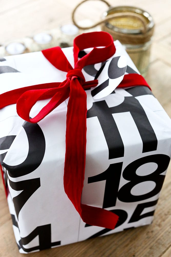 Upcycled Gift Wrapping Ideas old calendars