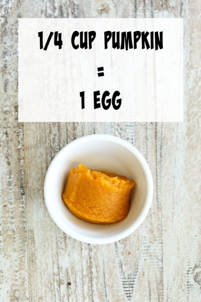 vegan Egg Substitutes-pumpkin