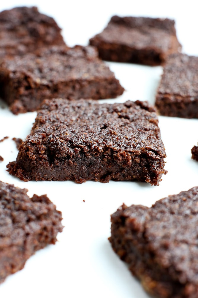 Keto Brownies vegan and gluten free