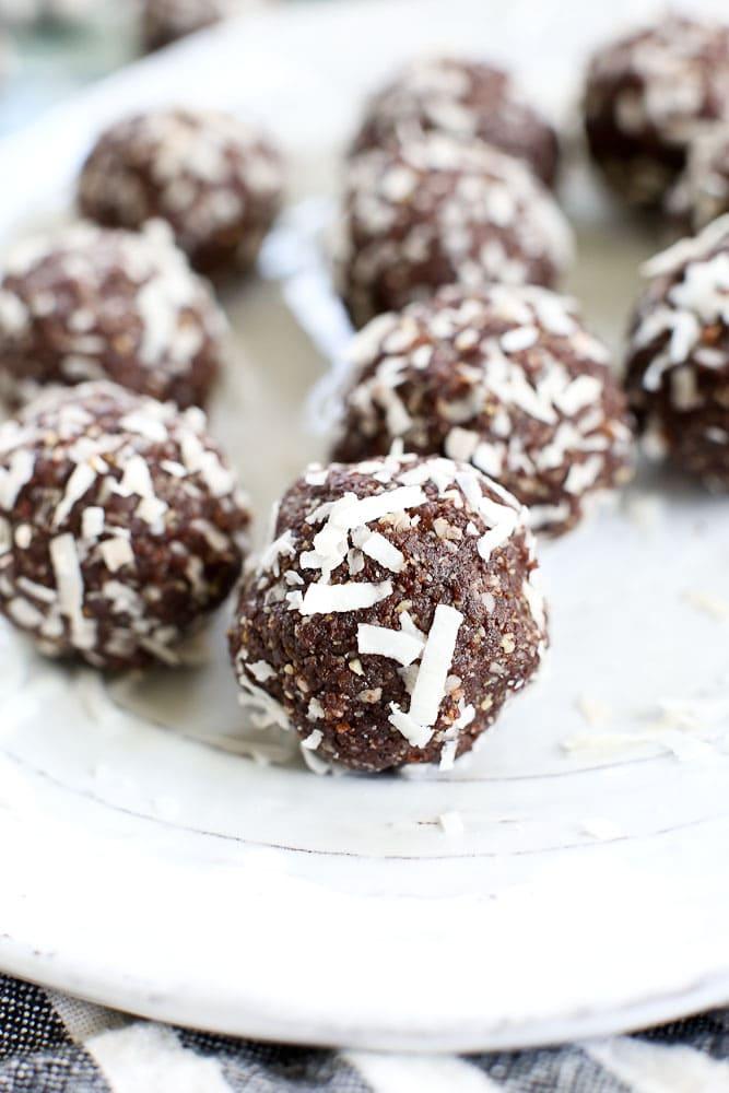 Cacao Coconut Energy Balls