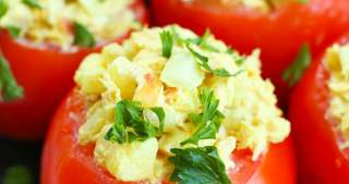 Curried Tuna Tomato Salad recipe