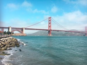 San Fransisco Girls Trip - Golden Gate Bridge