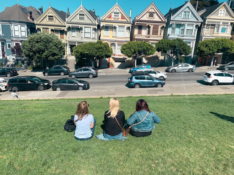 Painted Ladies in San Fransisco