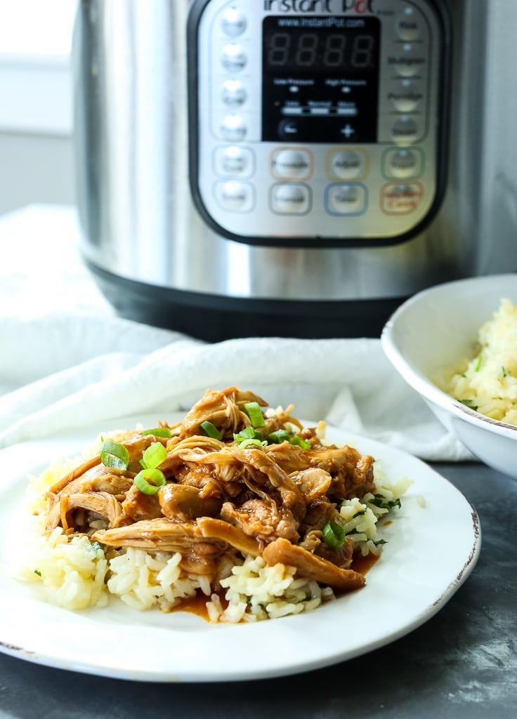 Honey Garlic Chicken Instant Pot Pressure Cooker or Slow cooker Recipe