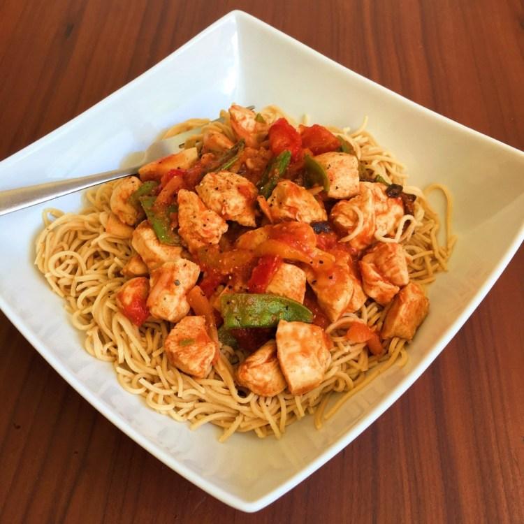 Explore Asian organic soybean spaghetti