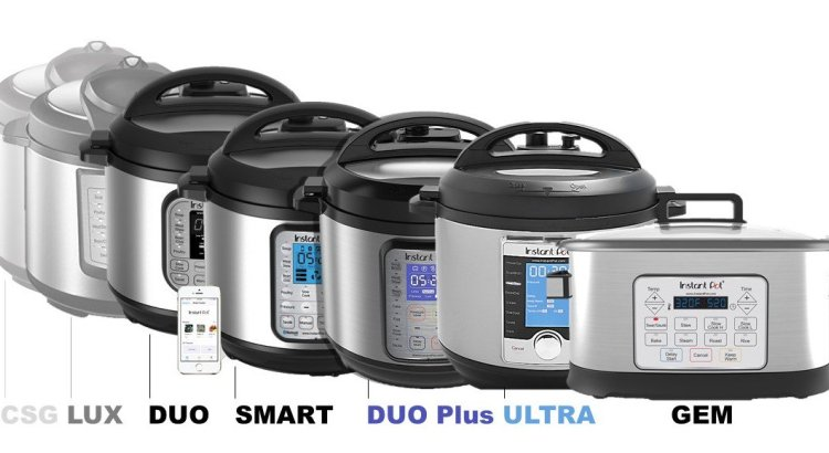 Multiple Versions of the Instant Pot