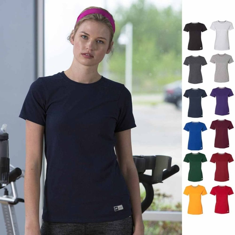 Russell Athletics Women's T shirt For Your Workout Routine