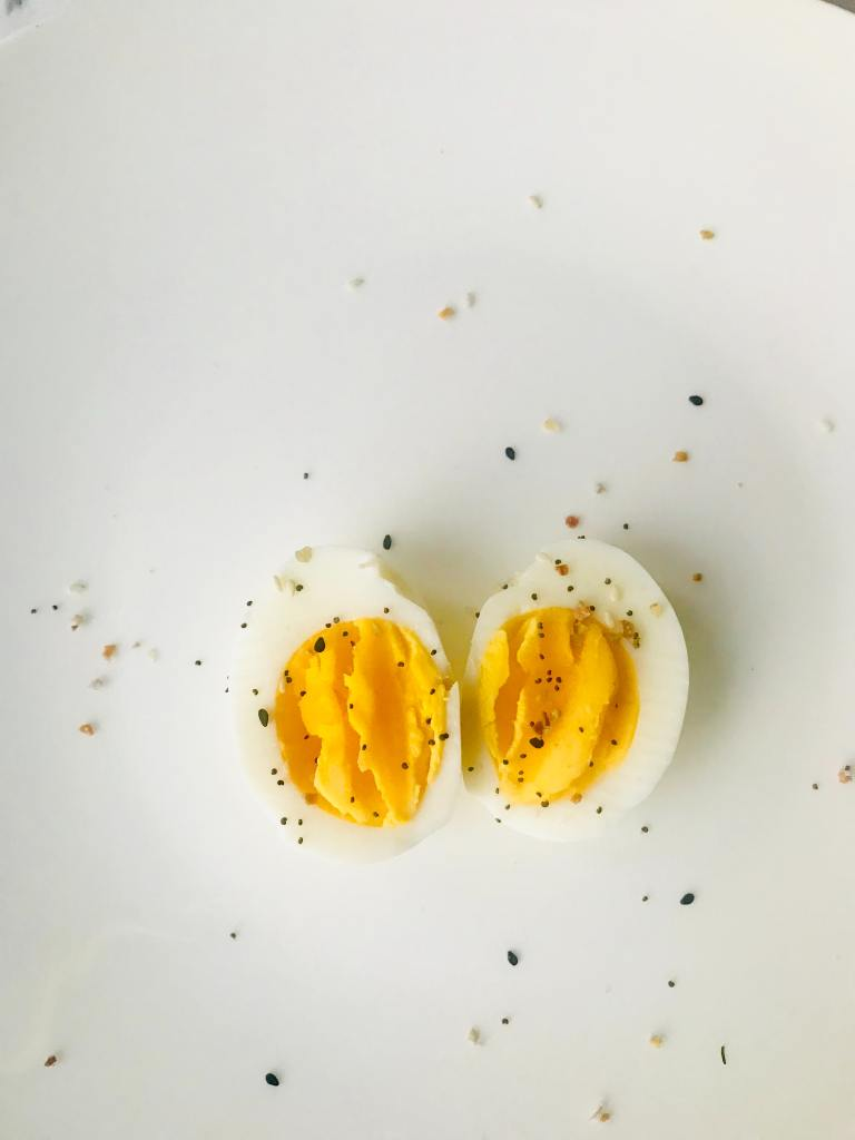 Hard Boiled Eggs for After HIIT Workout