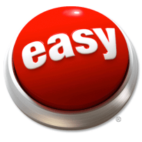Easy Button to Show You Should Start Your Workout Routine Off Easy