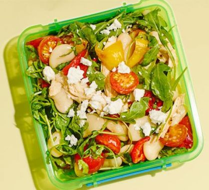 Salad- Packing a Healthy Lunch