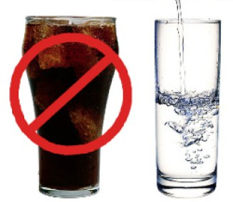 Choose Water Over Soda for as a Small Goal for a Lifestyle Change