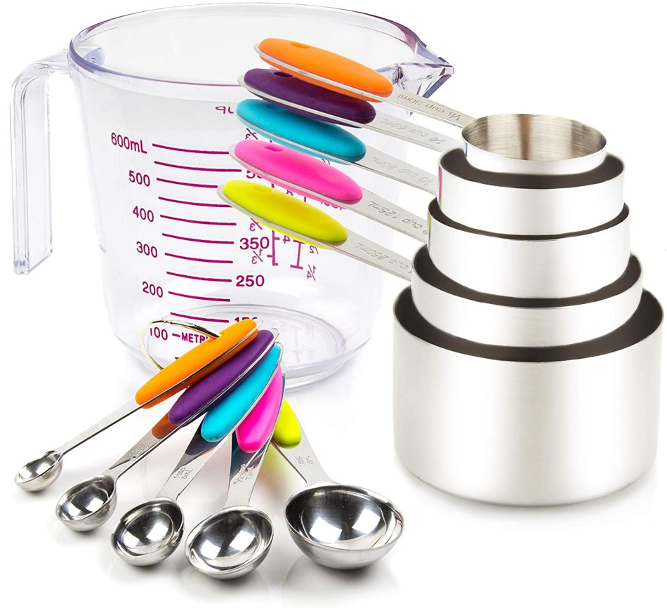Measuring Cups and Spoons Essential Cooking Tools