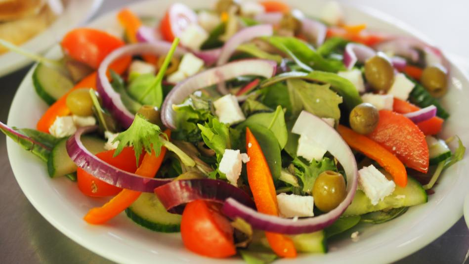 Tomato Wedges in a Salad Basic Cooking How To