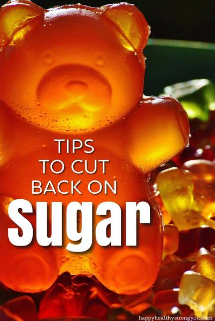 Tips To Cut Back On Sugar Pin