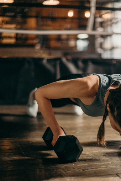 Woman Doing A Pushup- Health And Fitness Safety