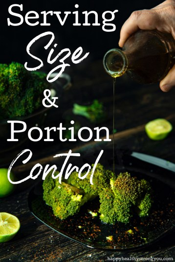 Serving Size And Portion Control