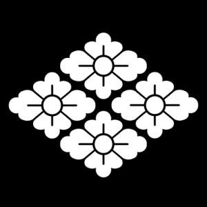 高麗屋の四つ花菱
